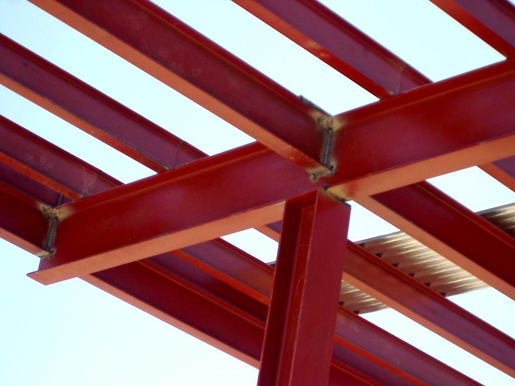 Estructuras metalicas para viviendas cheap diseo y - Estructura metalica vivienda ...