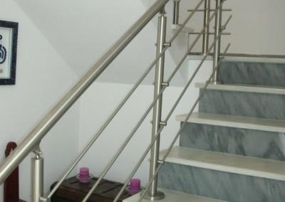 Pasamano escalera-inox